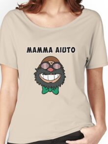 MAMA AIUTO Women's Relaxed Fit T-Shirt