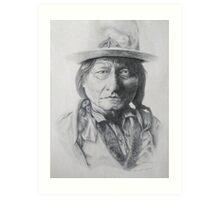 Chief Sitting Bull Art Print