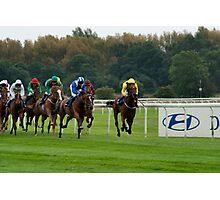 Doncaster Races Photographic Print