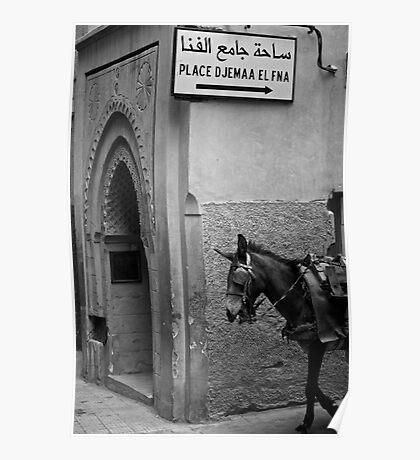 In the Medina Poster