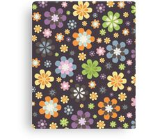 Floral Decor Pattern Modern Illustration Canvas Print