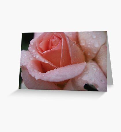 Raindrops & Roses Greeting Card