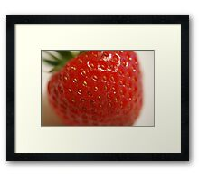 The Cream is Missing! Framed Print