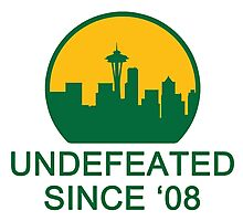 Undefeated Photographic Print