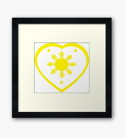 Love For The Philippines #1 Framed Print