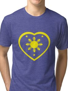 Love For The Philippines #1 Tri-blend T-Shirt