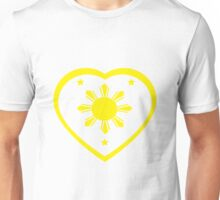 Love For The Philippines #1 Unisex T-Shirt