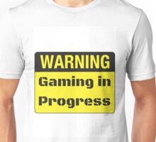 Gaming in Progress Unisex T-Shirt