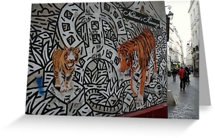Paris, rue des Rosiers. by Jean-Luc Rollier
