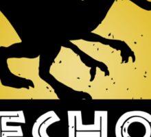Velociraptor Squad: Echo Team Sticker