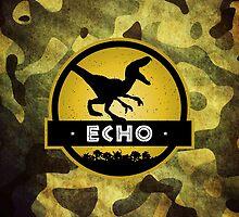 Velociraptor Squad: Echo Team by marslegarde