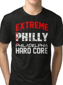 ECW philly Extreme Hardcore T - shirt Tri-blend T-Shirt