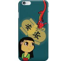 Chibi Mulan iPhone Case/Skin