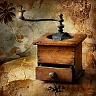The old coffee grinder by Þórdis B.