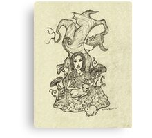 Gentle Alice Canvas Print