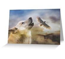 Wind Talker Greeting Card