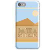 Fictional Brew - Bantha Milk iPhone Case/Skin