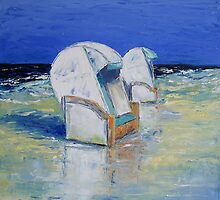 Beach Chairs by Claudia Hansen