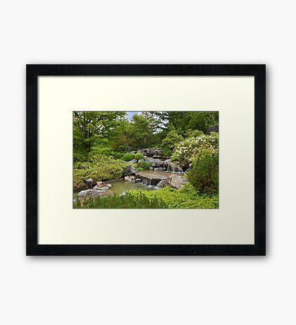 Montreal Botanical Gardens - Japanese Garden Framed Print