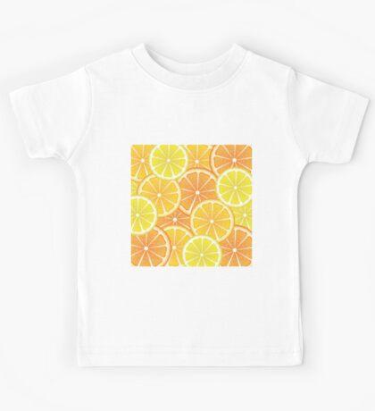 Various Citrus Slices 4 Kids Tee