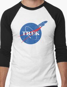 NASA Trek Men's Baseball ¾ T-Shirt