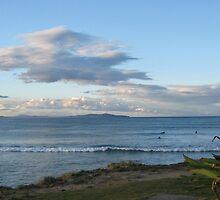 Crescent Head Surfing Beach.  by Maureen Dodd