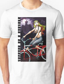 Vampire on a Bicycle T-Shirt
