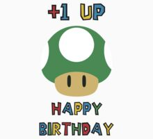 Happy Birthday - one UP One Piece - Short Sleeve