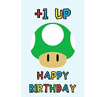 Happy Birthday - one UP Photographic Print