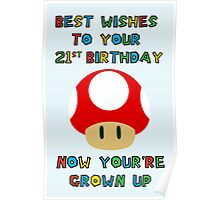 Happy Birthday - All grown up 21 Poster