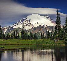 Mt Rainier in Washington by Jonicool