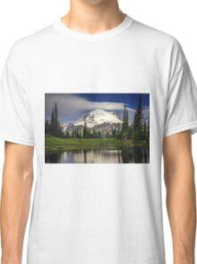 Mt Rainier in Washington Classic T-Shirt