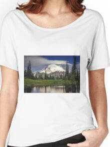 Mt Rainier in Washington Women's Relaxed Fit T-Shirt