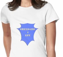 ShieldGirl Womens Fitted T-Shirt