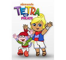 Tetra the Pirate Photographic Print