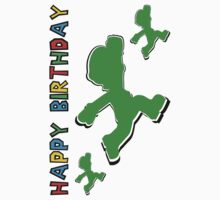 Happy Birthday - Luigi Kids Clothes