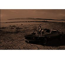 Lonely Desert Photographic Print