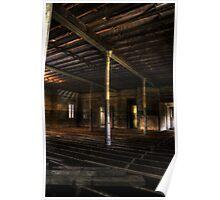 Communal Room - Abandoned Woogaroo Mental Asylum Poster