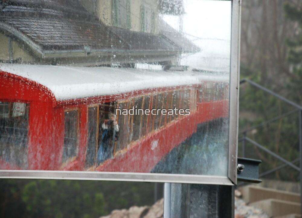 Mirror of Rigi Bahn by nadinecreates