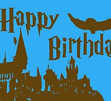 Happy Birthday - Ravenclaw by husavendaczek
