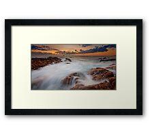 Smiths Beach Rush.... Framed Print