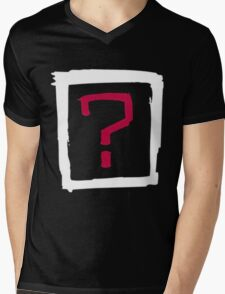 Where Is the Love Mens V-Neck T-Shirt