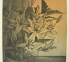"""Mis flores favoritas"" (My favorite flowers) by Michelle Falcony"