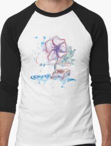 flowering tunes Men's Baseball ¾ T-Shirt