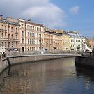 Along Griboyedov canal by Elena Skvortsova