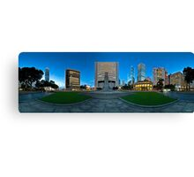 Statue Square, Hong Kong - 360 Panoramic Canvas Print