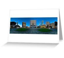 Statue Square, Hong Kong - 360 Panoramic Greeting Card