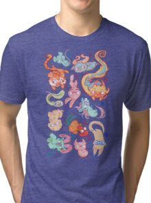 Chinese Animals of the Year Tri-blend T-Shirt