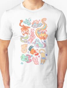 Chinese Animals of the Year Unisex T-Shirt