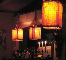 Three Lanterns and Three Candles by nadinecreates